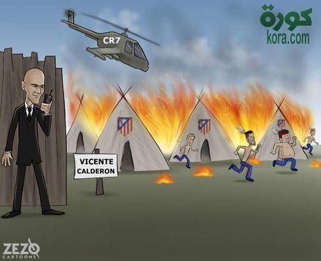 Biem hoa Mourinho va Wenger tu hai lan nhau - Anh 8