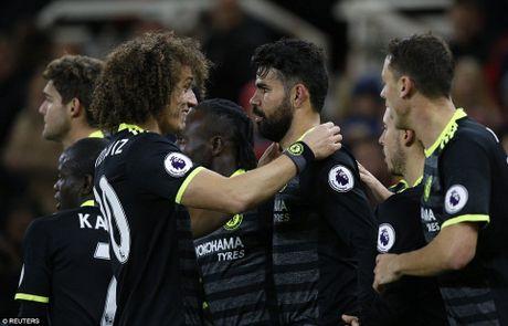 Diego Costa lap cong, Chelsea leo len dau bang - Anh 1