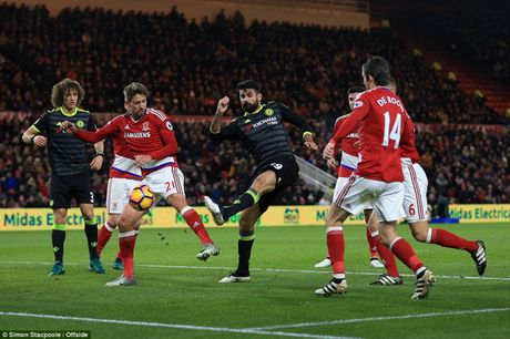 Costa ra chan, Chelsea 'len dinh' Ngoai hang Anh - Anh 1