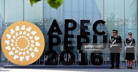 Chu tich nuoc Tran Dai Quang phat bieu tai phien be mac APEC 2016 - Anh 1