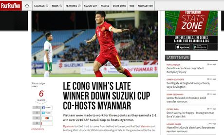 Bao nuoc ngoai noi gi sau chien thang cua doi tuyen Viet Nam truoc Myanmar? - Anh 1
