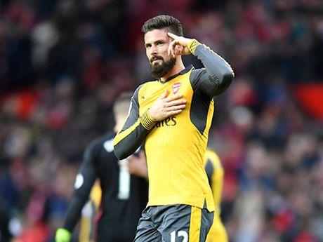 Olivier Giroud la cua hiem cua Arsenal - Anh 1