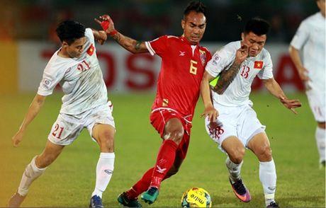 Cham diem Myanmar 1-2 Viet Nam: Cuu tinh Cong Vinh & diem tru hang thu - Anh 3