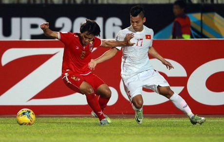 Cham diem Myanmar 1-2 Viet Nam: Cuu tinh Cong Vinh & diem tru hang thu - Anh 6