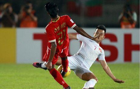Cham diem Myanmar 1-2 Viet Nam: Cuu tinh Cong Vinh & diem tru hang thu - Anh 7