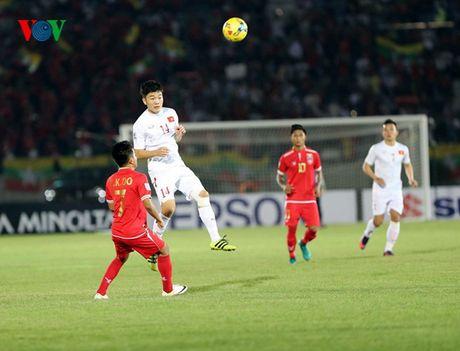 Cham diem Myanmar 1-2 Viet Nam: Cuu tinh Cong Vinh & diem tru hang thu - Anh 8