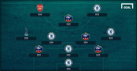 Chelsea 'nhuom xanh' doi hinh trong mo cua cuu thu quan Arsenal - Anh 1