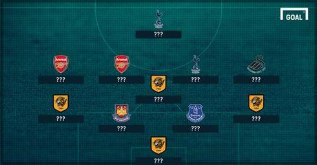 Doi hinh te nhat vong 12 Premier League: Mesut Ozil gay that vong - Anh 1