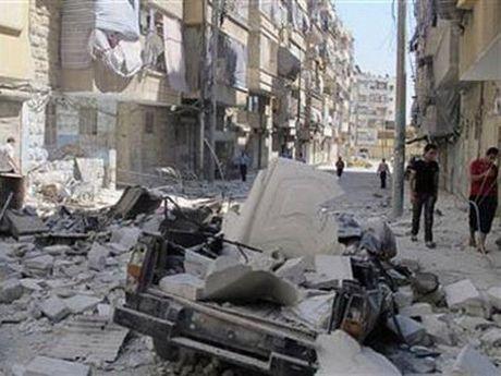 Gan 1 trieu nguoi mac ket trong cac vung chien su o Syria - Anh 1