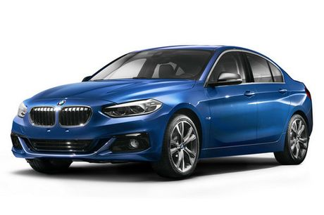 BMW 1-Series Sedan hoan toan moi lan dau ra mat - Anh 1