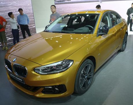 BMW 1-Series Sedan hoan toan moi lan dau ra mat - Anh 3