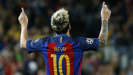 Messi 'mot minh, mot ngua' o Champions League - Anh 13