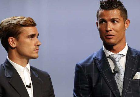 Ronaldo tiet lo: Griezmann noi rang cau ay ghet toi - Anh 1
