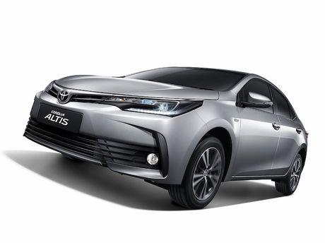 Toyota Corolla Altis 2017 'chot gia' 507 trieu dong - Anh 1