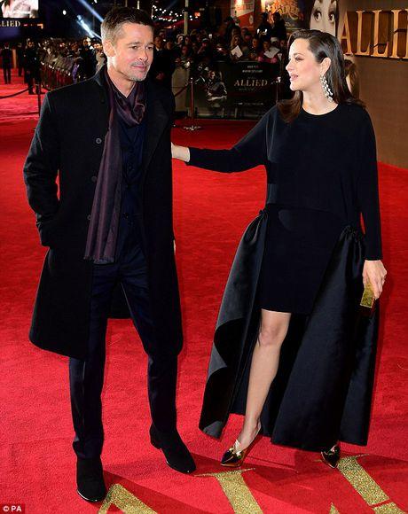 Brad Pitt va Marion Cotillard than mat tren tham do - Anh 8