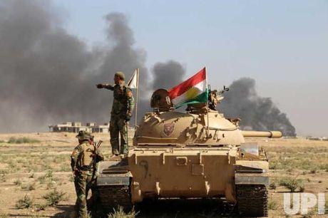 Quan doi Iraq da giai phong gan 1/3 thanh pho Mosul - Anh 1
