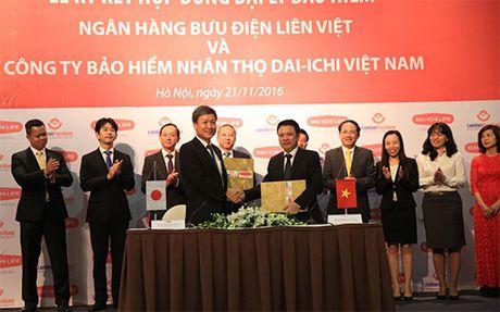 LienVietPostBank hop tac voi Dai-ichi Viet Nam - Anh 1