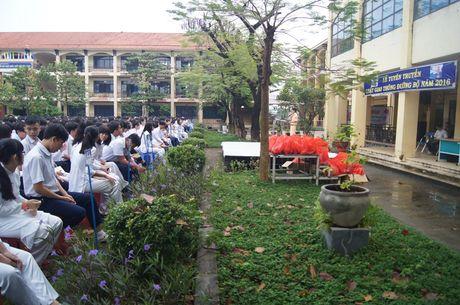 Nang cao nhan thuc Luat Giao thong cho hang tram hoc sinh - Anh 1