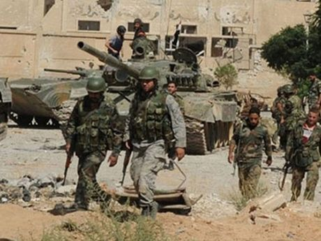 Quan doi Syria mo rong chuoi an ninh o tinh Damascus - Anh 1