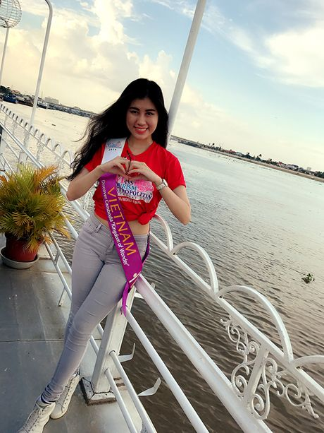 Nguoi dep Viet Nam bat ngo vao Top 9 Hoa hau du lich quoc te - Anh 3