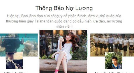 Soc vi thong bao doi luong tren website thuong hieu giay Hari Won sang lap - Anh 1
