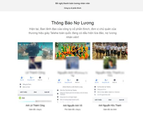 Soc vi thong bao doi luong tren website thuong hieu giay Hari Won sang lap - Anh 2