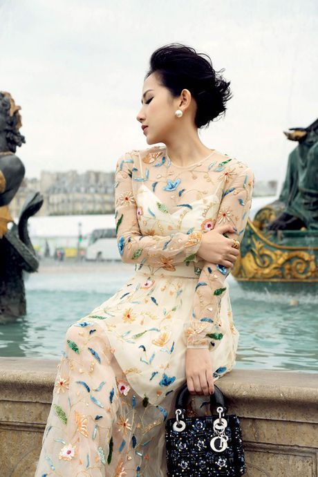 Nu fashionista - doanh nhan Tram Nguyen noi bat tren pho Paris - Anh 6