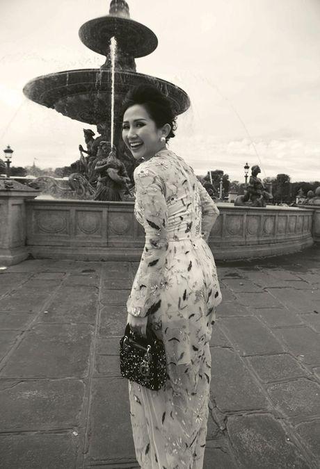 Nu fashionista - doanh nhan Tram Nguyen noi bat tren pho Paris - Anh 7