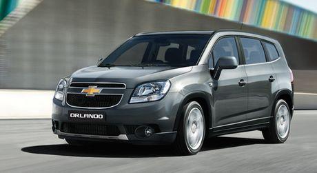 531 chiec Chevrolet Orlando tai Viet Nam bi loi nut khoi dong - Anh 1