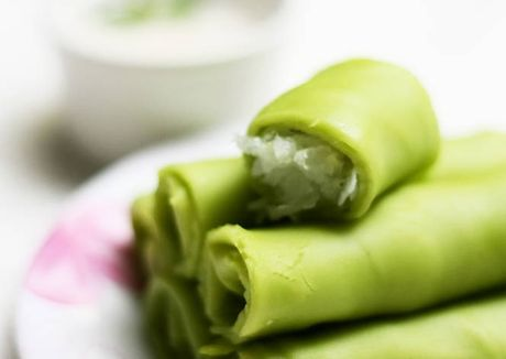 Cong thuc sieu de de lam banh crepe dua tuoi hao hang - Anh 3