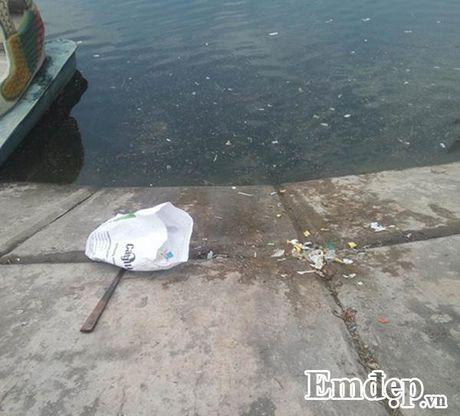 Mat ho Linh Dam bat ngo xuat hien luong lon... bao cao su da su dung - Anh 8