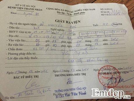 Xot chong dau don, vo gui tam thu to Benh vien Thanh Nhan - Anh 2