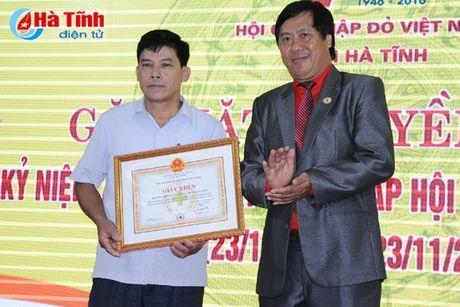 Gap mat truyen thong ky niem 70 nam thanh lap Hoi Chu thap do Viet Nam - Anh 10