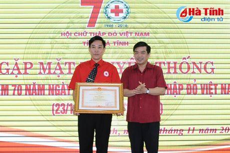 Gap mat truyen thong ky niem 70 nam thanh lap Hoi Chu thap do Viet Nam - Anh 6