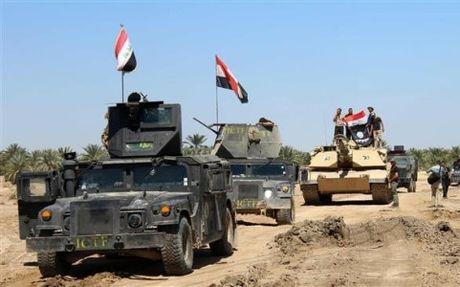 Quan doi Iraq giai phong 1/3 dien tich Mosul khoi tay IS - Anh 1