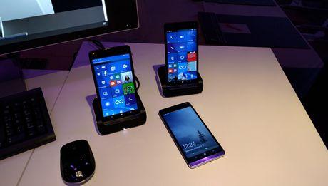HP va Microsoft hop tac de phat trien dien thoai Windows 10 - Anh 1