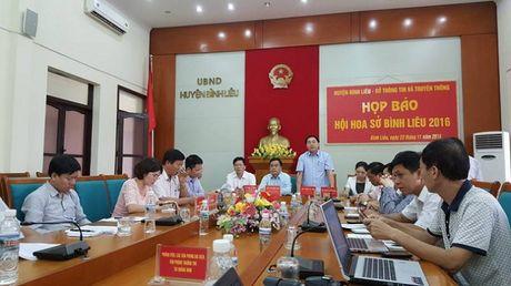 Quang Ninh: Le hoi hoa So - diem nhan phat trien du lich tai Binh Lieu - Anh 1