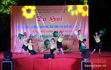 Soi dong da hoi sinh vien Y khoa Vinh - Anh 1