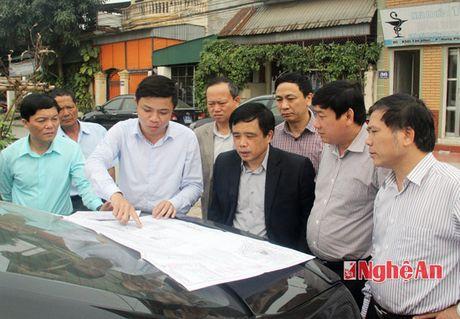 TP Vinh: Chuan bi thi cong du an duong Ly Thuong Kiet keo dai - Anh 3