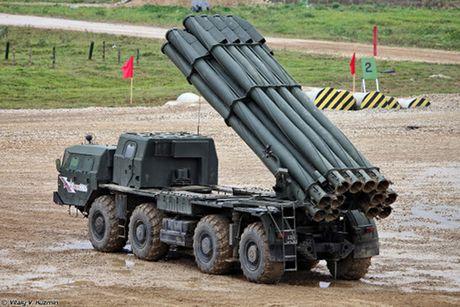 BM-30 Smerch - phao phan luc dang so nhat cua Nga - Anh 1