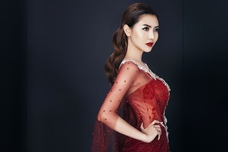 Nu hoang sac dep Ngoc Duyen hao huc chuan bi vay ao du Victoria's Secret - Anh 6