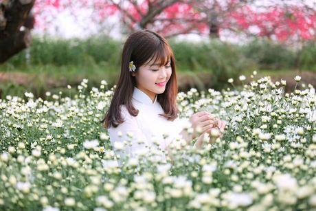Thieu nu Ha thanh 'do sac' cung hoa cuc hoa mi - Anh 11