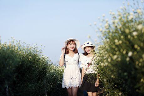 Thieu nu Ha thanh 'do sac' cung hoa cuc hoa mi - Anh 7