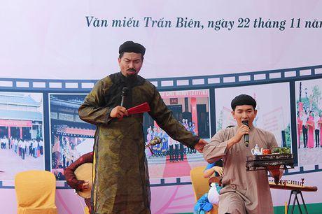 Lan dau tien dua van hoa Nam Bo vao khu di tich - Anh 5