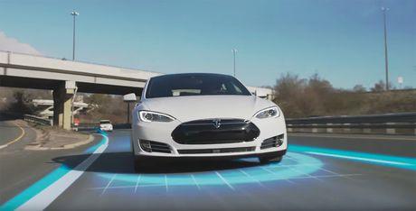 Tesla hoan thanh giac mo xe tu lai cua loai nguoi - Anh 1