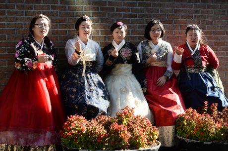 Du khach thue hanbok tung tang dao pho Seoul - Anh 11
