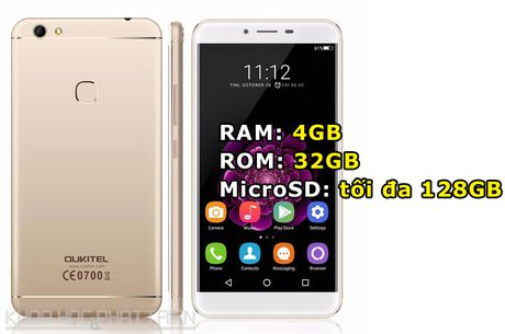 Chi tiet smartphone RAM 4 GB, cam bien van tay, gia hon 3 trieu dong - Anh 2