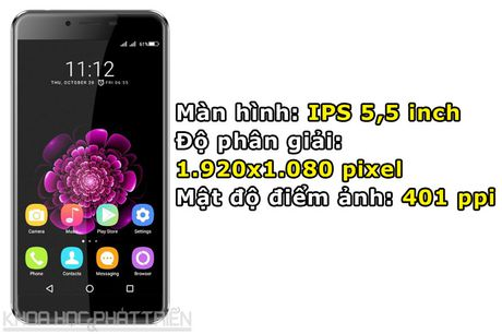 Chi tiet smartphone RAM 4 GB, cam bien van tay, gia hon 3 trieu dong - Anh 5