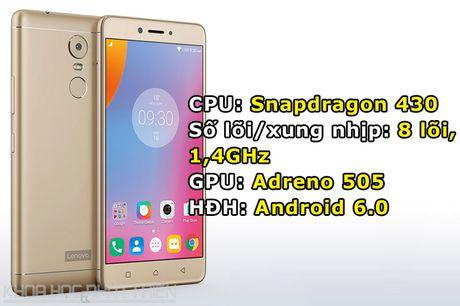 Chum anh smartphone camera 'khung', RAM 4 GB, pin 4.000 mAh - Anh 1