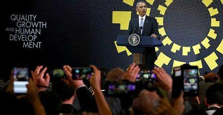 Obama tiet lo du dinh sau khi roi Nha Trang - Anh 1